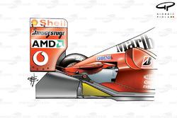 Diffuseur non étagé de la Ferrari F2002 (653)