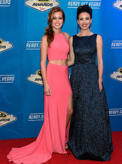 Miss Sprint Cup Madison Martin and Miss Sprint Cup Julianna White