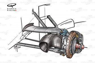 Frein avant de la McLaren MP4-15 (grande taille)