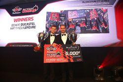 TM Performance Pitstop Challenge winners, Benoit Ducastel, Matthieu Lefevre, Belgian Audi Club Team