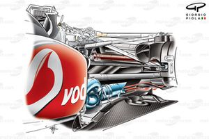 McLaren MP4-25 üflemeli difüzör