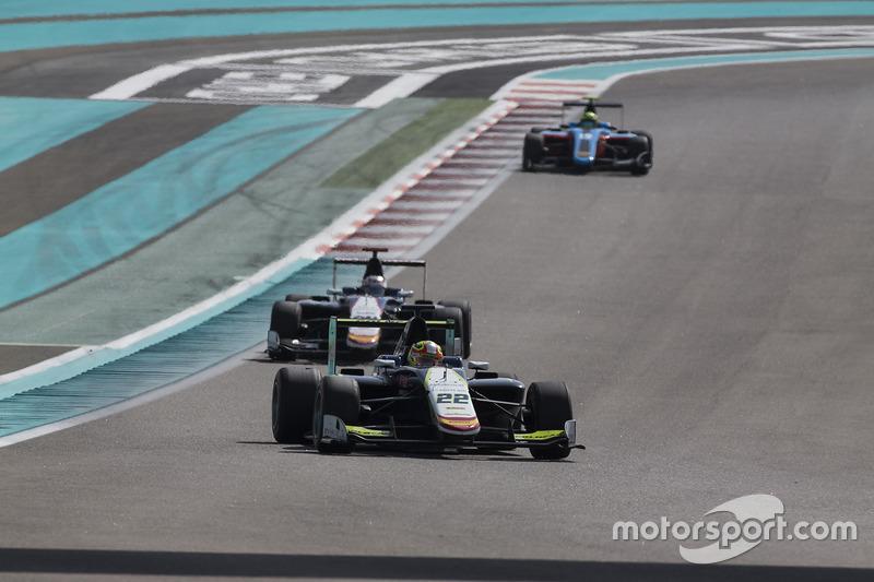 Alex Palou, Campos Racing y Konstantin Tereshchenko, Campos Racing