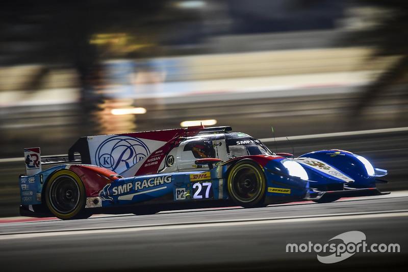 9. LMP2: #27 SMP Racing, BR01 - Nissan: Maurizio Mediani, Nicolas Minassian, Mikhail Aleshin