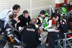Eugene Laverty, Aprilia test team