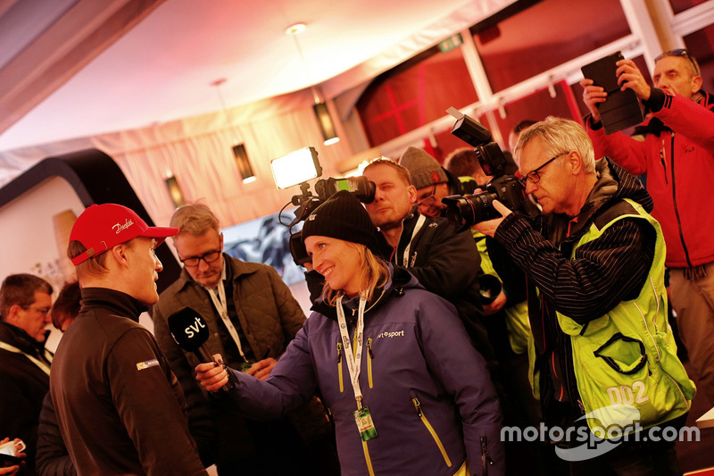 Jari-Matti Latvala, Toyota Racing con los medios