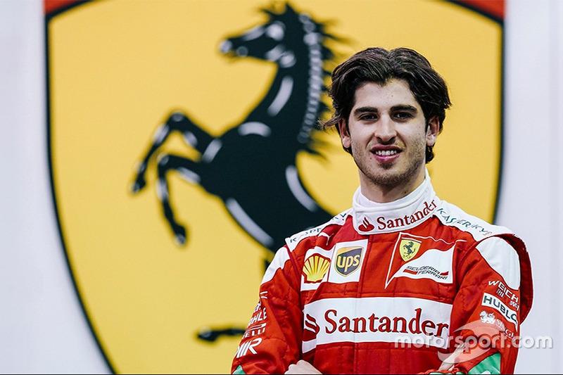 Antonio Giovinazzi, troisième pilote Ferrari