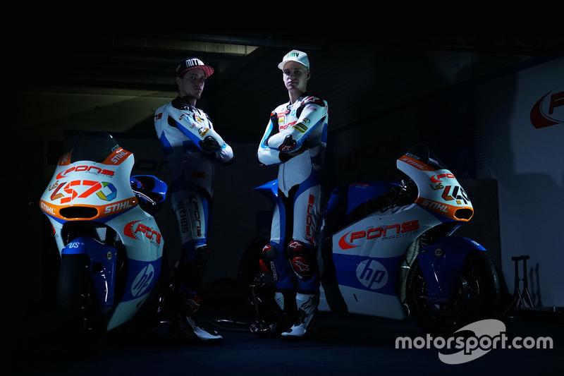Edgar Pons y Fabio Quartararo, Pons HP 40