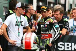 Jonathan Rea, Kawasaki Racing, mit Ben Spies