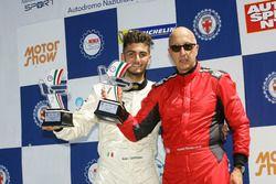 Podio CNA2 Gara 1: Ranieri Randaccio (SCI Team; Cosimo Papi