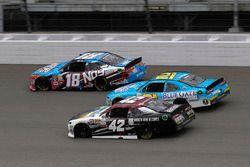 Kyle Busch, Joe Gibbs Racing Toyota Daniel Hemric, Richard Childress Racing Chevrolet Tyler Reddick, Chip Ganassi Racing Chevrolet