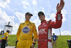 Todd Gilliland, Kyle Busch Motorsports. Toyota; Harrison Burton, Kyle Busch Motorsports. Toyota