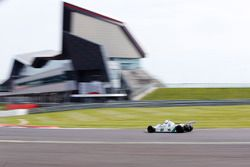 Williams FW07 en demostración