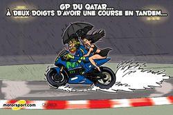 L'humeur de Cirebox - Une autre idée du Qatar sous la pluie
