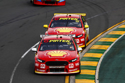 Scott McLaughlin, Team Penske Ford, Fabian Coulthard, Team Penske Ford
