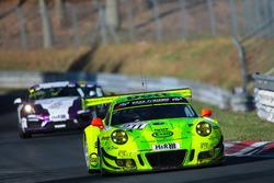 Romain Dumas, Frédéric Makowiecki, Patrick Pilet, Manthey Racing, Porsche 911 GT3 R