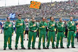Joe Gibbs Racing pit crew