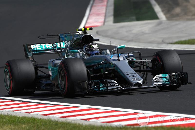 Valtteri Bottas, Mercedes-Benz F1 W08 Hybrid