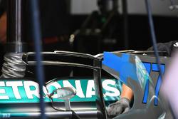 Заднее антикрыло Mercedes-Benz F1 W08 Hybrid