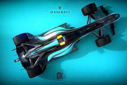 Maserati 2020 Fantezi Konsept Tasarım