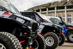 Quads ready for the Silk Way Rally