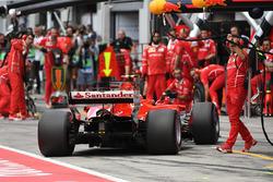 Пит-стоп: Кими Райкконен, Ferrari SF70H