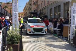 Riccardo Pederzani, Roberto Mometti, Peugeot 208 R2B