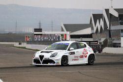 Шота Абхазава, GE-Force, Alfa Romeo Giulietta TCR