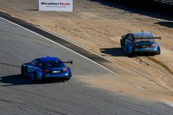 #14 3GT Racing Lexus RCF GT3: Scott Pruett, Sage Karam, #15 3GT Racing Lexus RCF GT3: Scott Pruett,