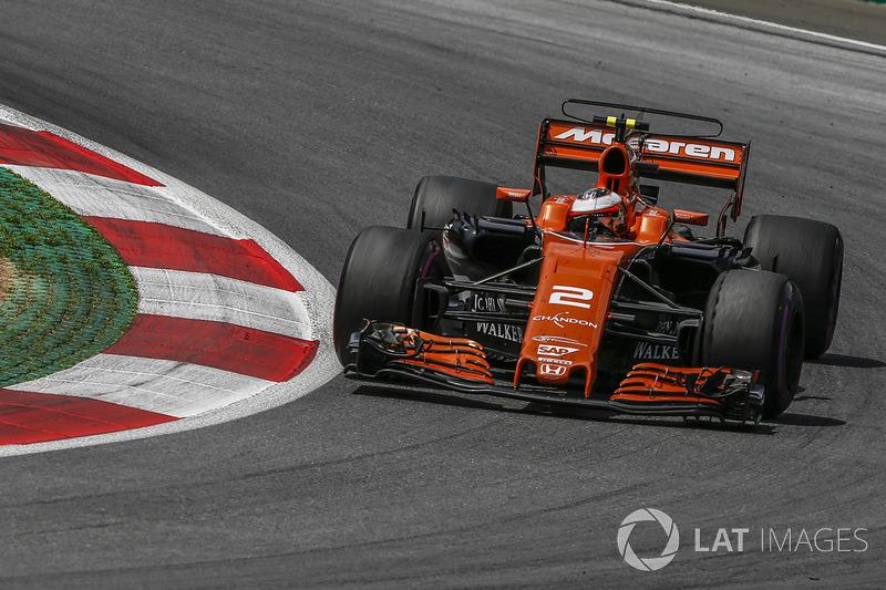 12. Стоффель Вандорн, McLaren MCL32