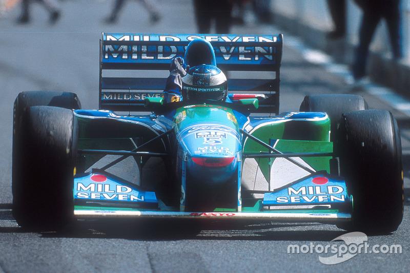 1994. Інтерлагос. Переможець: Міхаель Шумахер, Benetton B194 Ford Cosworth