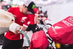 Atmosfera al Monster Energy Honda Team
