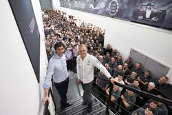 Valtteri Bottas, Mercedes, Toto Wolff, Mercedes AMG F1 Shareholder and Executive Director