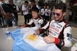 Yuji Kunimoto, Jose Maria Lopez, Toyota Gazoo Racing