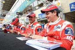 Patrice Lafargue, Paul Lafargue, David Zollinger, IDEC Sport Racing