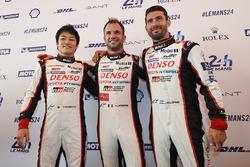 Юдзі Кунімото, Ніколя Лап'єрр, Хосе-Марія Лопес, Toyota Gazoo Racing