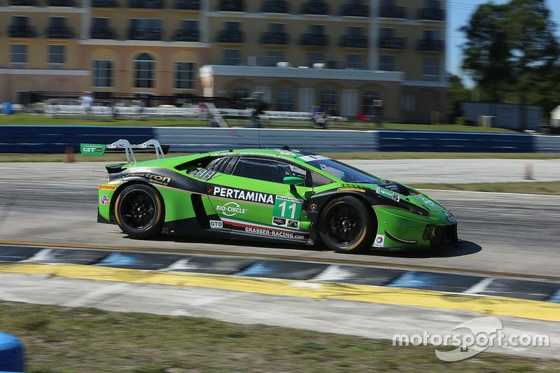 9. GTD: #11 GRT Grasser Racing Team, Lamborghini Huracan GT3