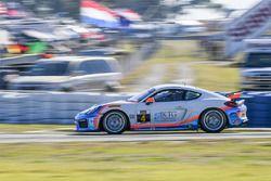 #4 Team TGM Porsche Cayman GT4 MR: Ted Giovanis, Hugh Plumb
