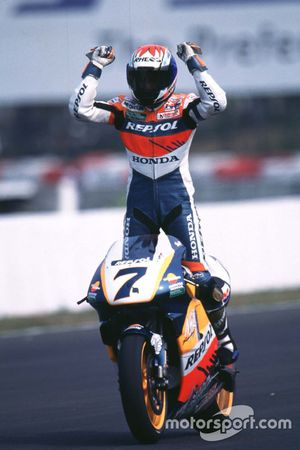 Winner Tadayuki Okada, Honda