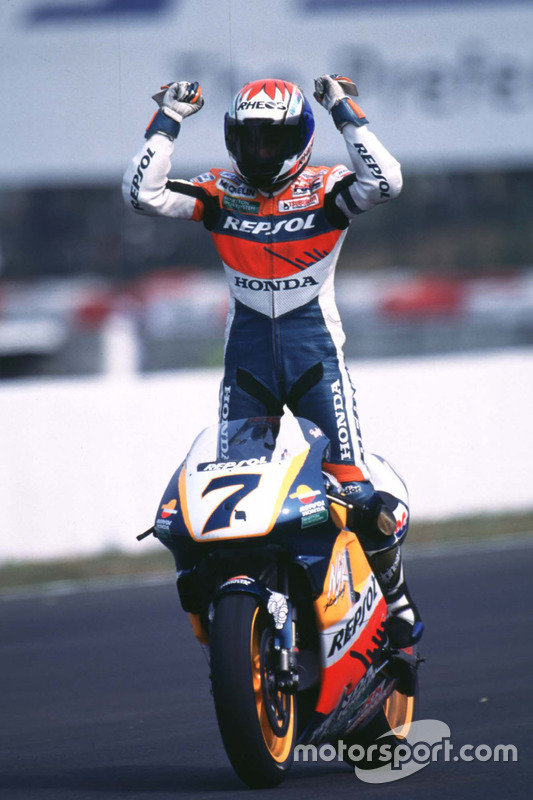 Tadayuki Okada, Honda, vainqueur