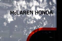 McLaren Honda signage