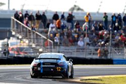 #12 Bodymotion Racing, Porsche Cayman GT4: Cameron Cassels, Trent Hindman