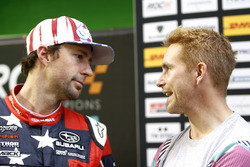 Travis Pastrana and Scott Speed