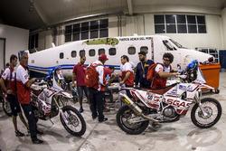 Les membres du GasGas Rally Team
