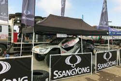 Óscar Fuertes, Diego Vallejo, SsangYong Tivoli DKR