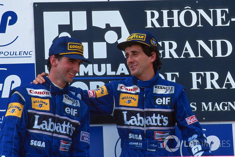 Напарником Проста стал Деймон Хилл – бывший тест-пилот Williams, на счету которого было всего-то два старта за Brabham в 1992 году