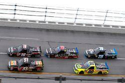 Myatt Snider, Kyle Busch Motorsports Toyota, Noah Gragson, Kyle Busch Motorsports Toyota, Ben Rhodes