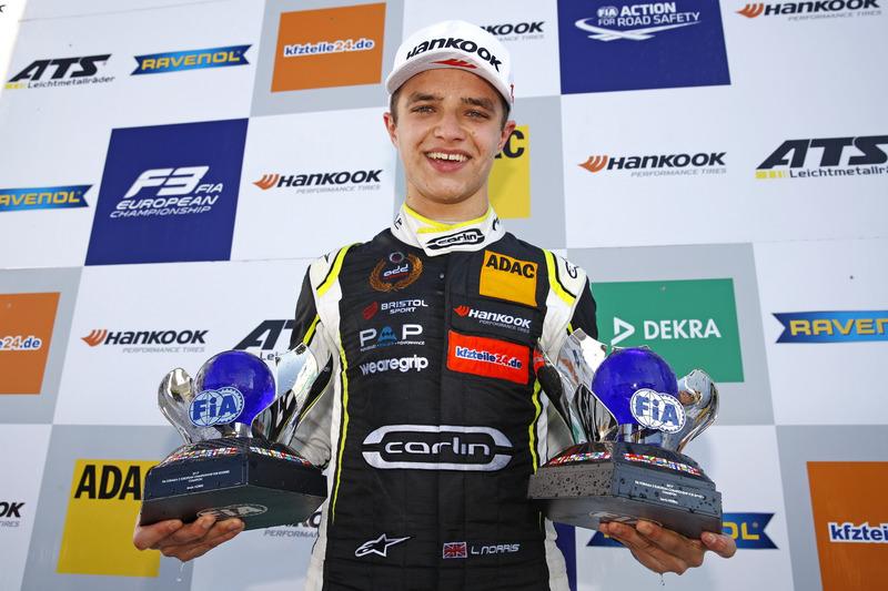 Европейский чемпионат Формула 3: Ландо Норрис