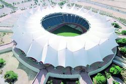 King-Fahd-Stadion in Riad, Saudi Arabien
