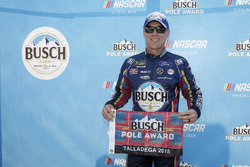Polesitter Kevin Harvick, Stewart-Haas Racing, Ford Fusion Busch Beer Flannel