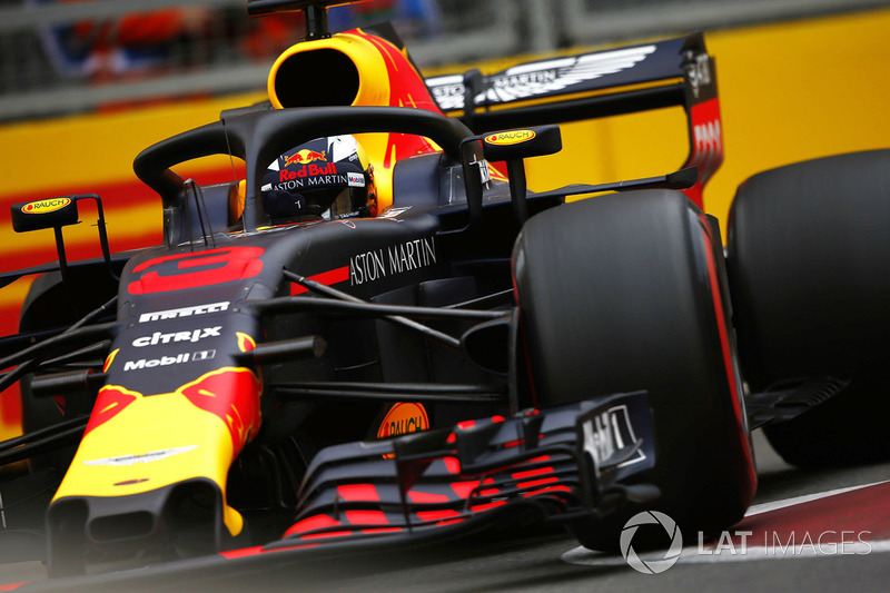 4. Daniel Ricciardo, Red Bull Racing RB14 Tag Heuer